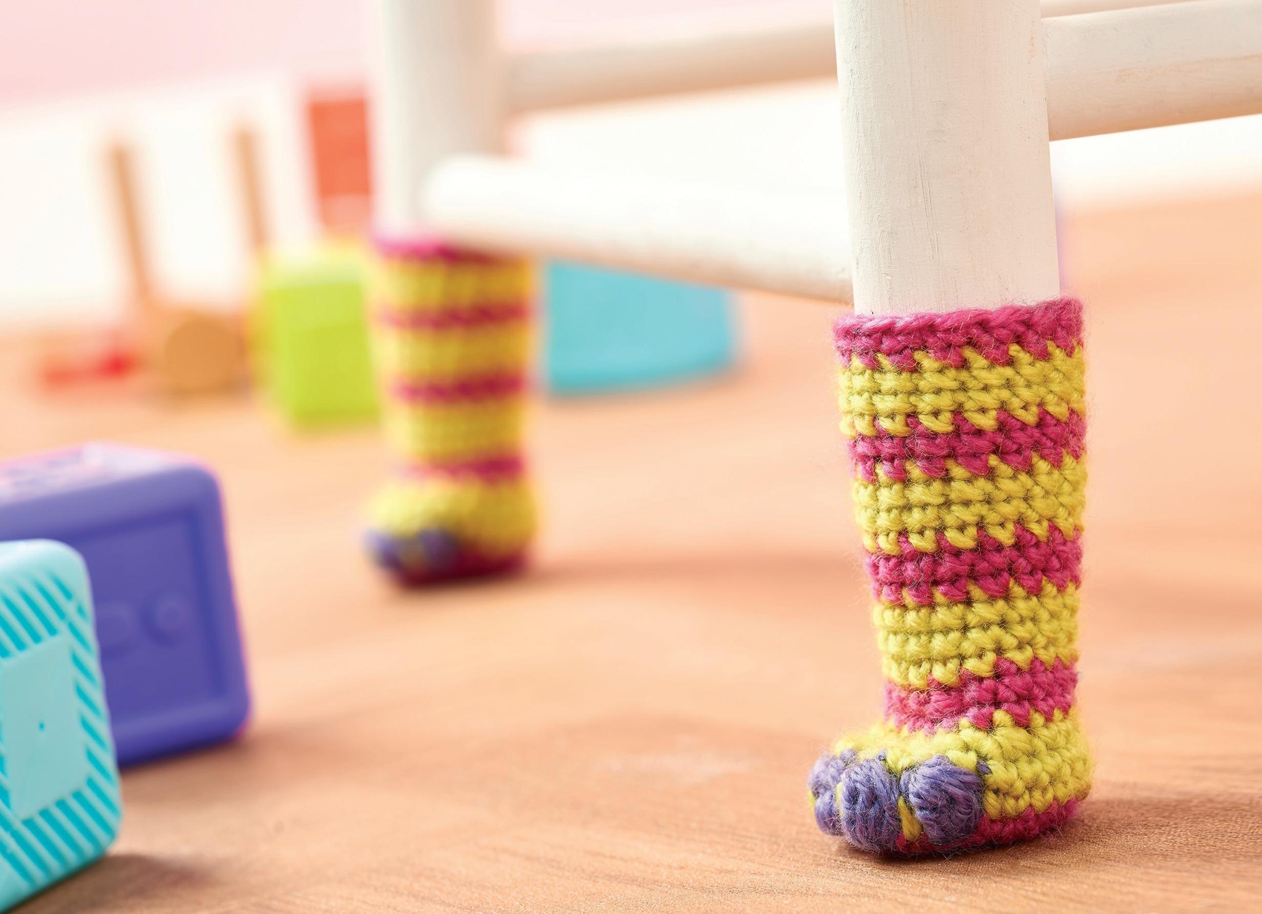 Chair Socks Crochet Pattern | Crochet | Pinterest | Chair socks ...
