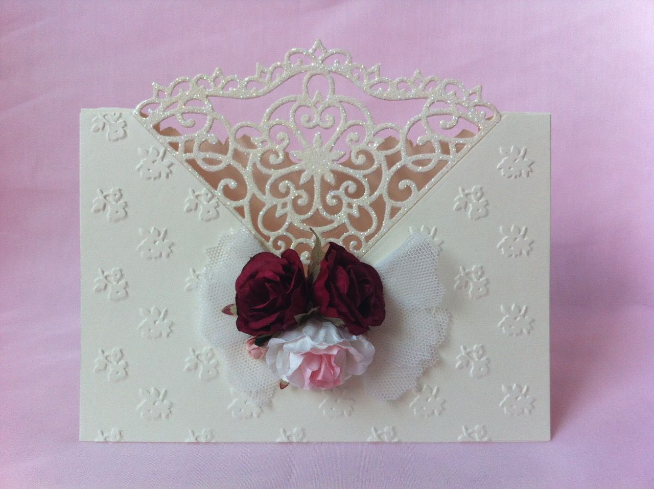special wedding card inspir. from Christina Griffits many thanks