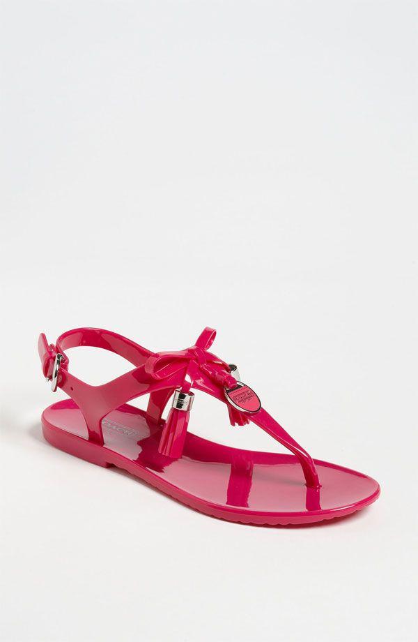 COACH 'Helma' Jelly Sandal - http://womenspin.com/shoes/coach-helma-jelly-sandal/