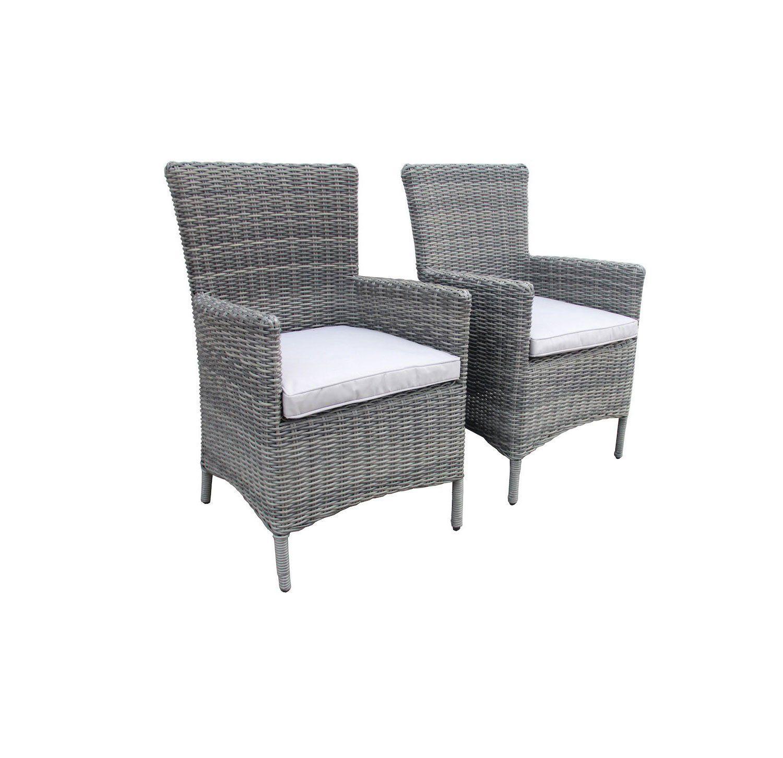 Surprising Charles Bentley Garden Luxury Pair Of Rattan Garden Arm Evergreenethics Interior Chair Design Evergreenethicsorg