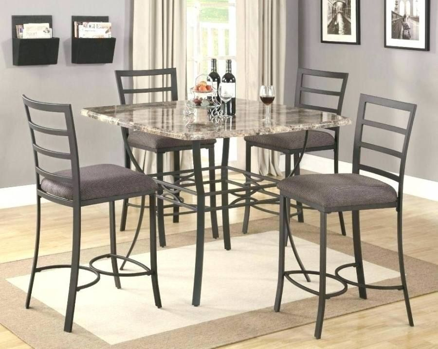 Granite Top Round Kitchen Table In 2020 Kitchen Table Settings
