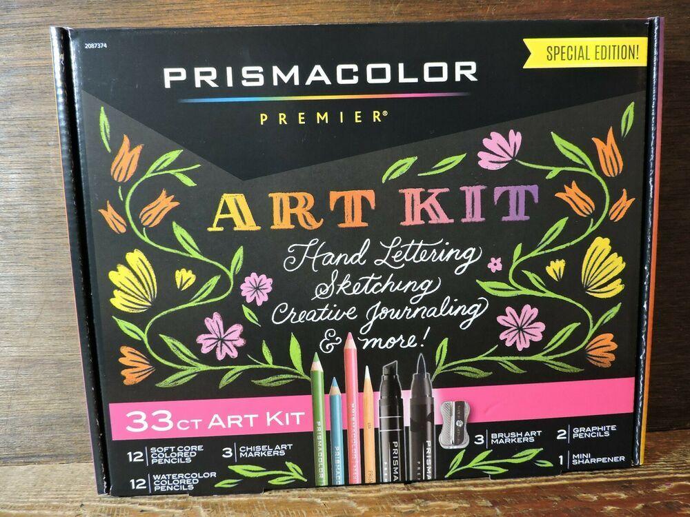 New 33ct pismacolor premier special edition art kit