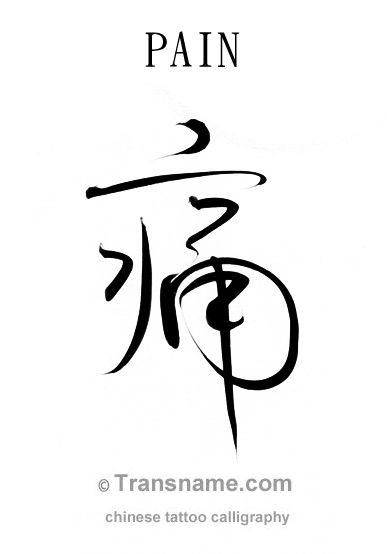 Chinese Tattoo Translation And Calligraphy