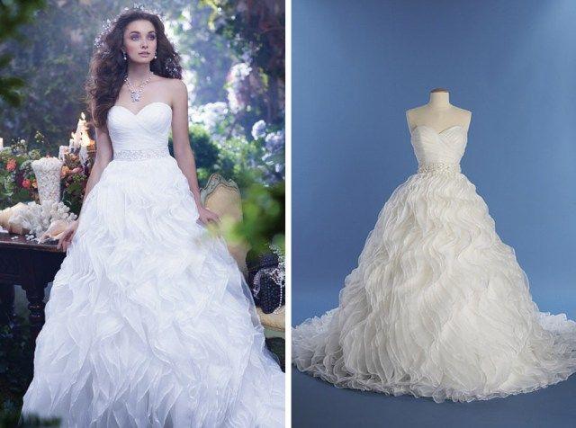 Vestidos de noiva e alianças inspirados nas princesas da Disney ...