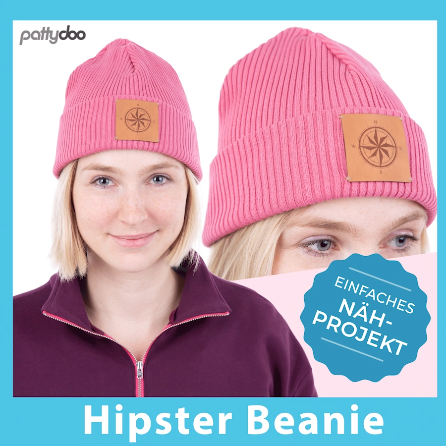 Photo of Einfache Hipster Beanie selber nähen