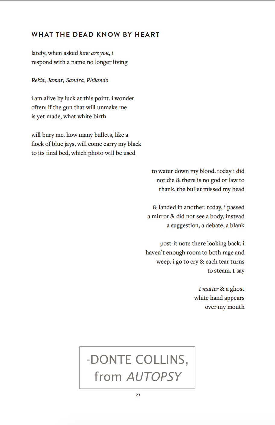 Buttonpoetry The Poem That Won Donte Collins The Most Promising Young Poet Award Check Out This And More From Donte In Their Astonish Cool Words Poems Words