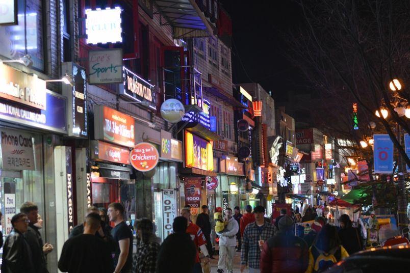 Kunsan korea nightlife
