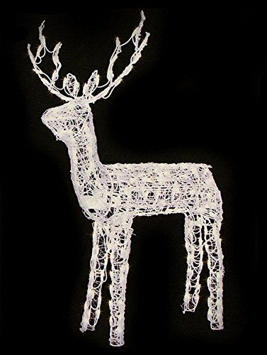 Price Tracking For 48 Animated Crystal 3 D Standing Buck Reindeer Lighted Christmas Yard Art Decoration Clear Lights Price History Chart And Drop Alerts Fo Christmas Yard Art Christmas Reindeer Decorations Reindeer Lights
