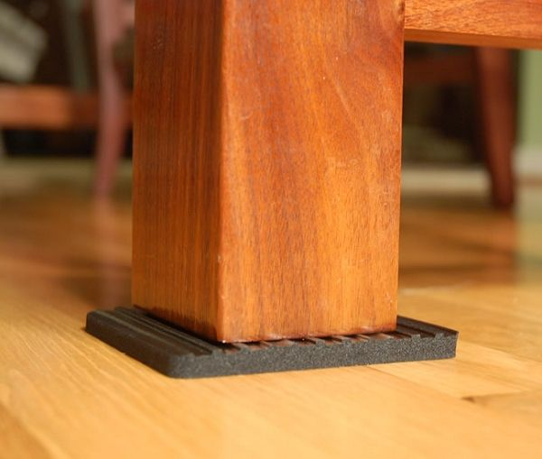 Furniture Gripper Keep From Sliding And Damaging Wood Floors