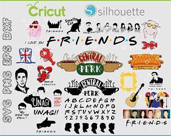 Friends Svg Etsy Friends Tv Friends Font Friends Tv Show