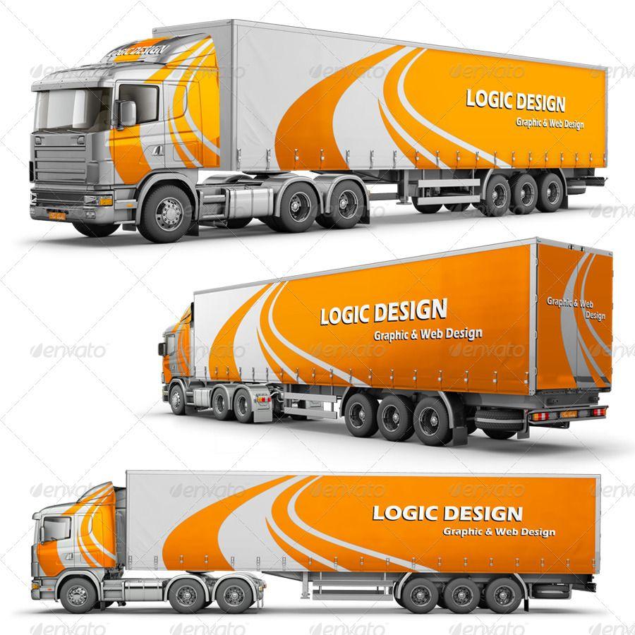 50 Truck Mockup Psd For Trucks Branding Free Premium