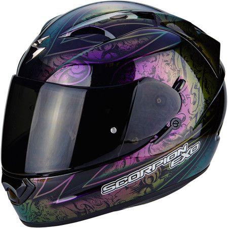 Scorpion Exo 1200 Air Fantasy Helmet   Graphic Black