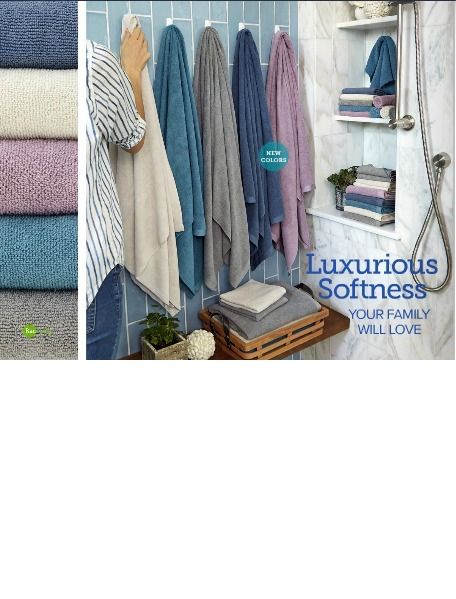 Norwex Bath Towels Mesmerizing Norwex Hand Towels And Bath Towels In New Colors For 2018  Denim Decorating Inspiration