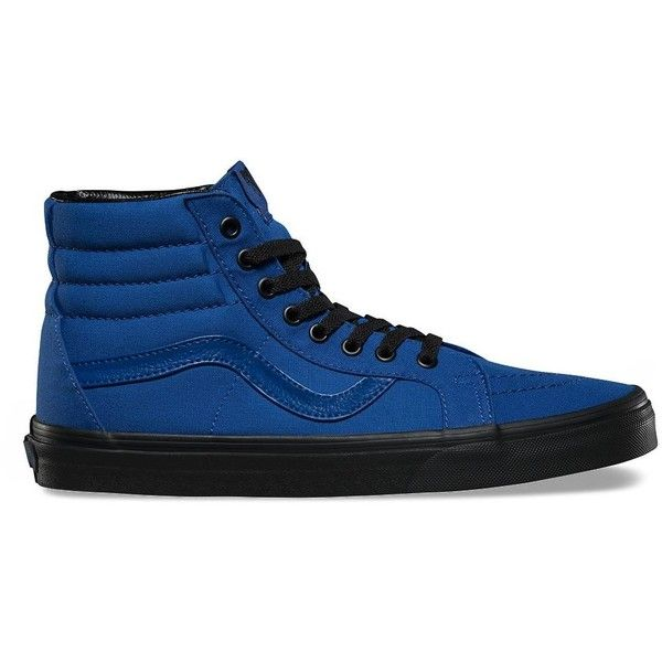 8282075503 Vans Black Outsole SK8-Hi Reissue ( 60) ❤ liked on Polyvore featuring men s