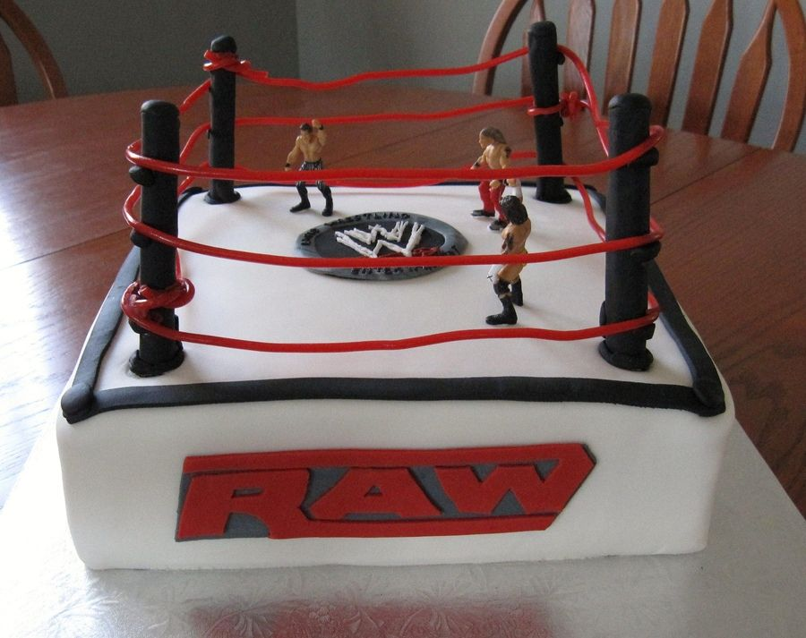 Boys Birthday Cake For 9 Years Old Wrestling