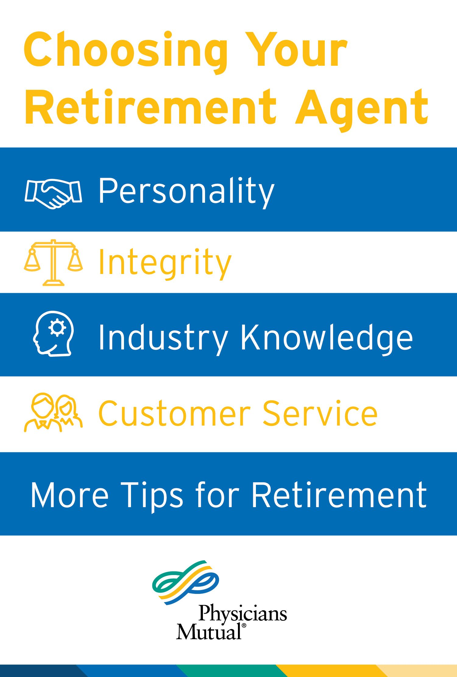 How to choose the right insurance agent for retirement ...
