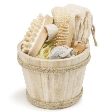 un panier en bois pour votre salle de bains assurer confort et un
