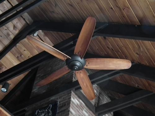 How To Install A Ceiling Fan On A Vaulted Angled Sloped Ceiling The Home Depot Community Ceiling Fan Vaulted Ceiling Ceiling Fan Makeover Ceiling Fan