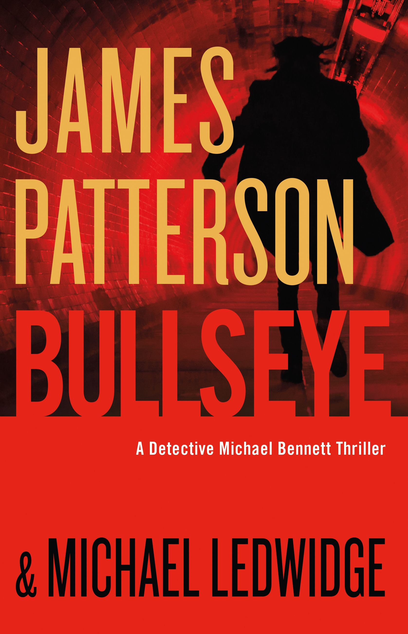 Bullseye / Michael Ledwidge & James Patterson.  Snow blankets the avenues of Manhattan's exclusive Upper West Side. The storm is the perfect cover for a fashionable, highly trained team of lethal assassins as they prowl the streets, hunting their prey. But their first hit is simply target practice. Their next mission may very well turn the Cold War red-hot once again. Stepping directly into the line of fire, the president of the United States is in New York for a summit at the United…