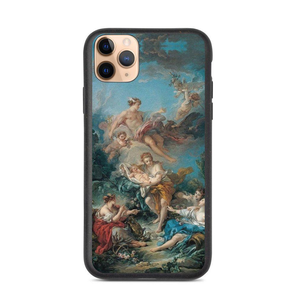 Iconic Art Phone Case Eco Biodegradable Classic Art Cover For Etsy Art Phone Cases Mandala Phone Case Classic Art