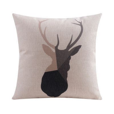Graphic, Minimalist Nordic-Look Throw Pillow Covers