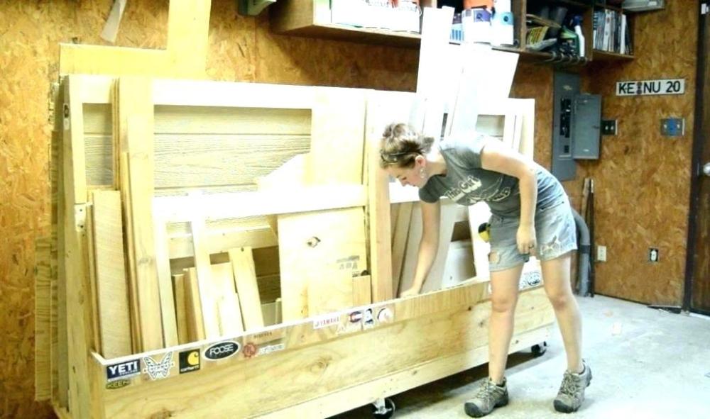 Lumber Storage Rack Plans Rolling Lumber Storage Rack Plans Wood