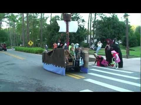 Halloween Golf Cart Parade Highlights at Fort Wilderness Campground on camping bus, camping parts, camping shoes, camping tv,