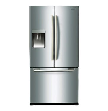 Samsung Side By Side French Door Fridge Freezer With Water And Ice