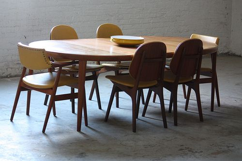 Superieur Round Mid Century Extendable Dining Room Tables   Google Search