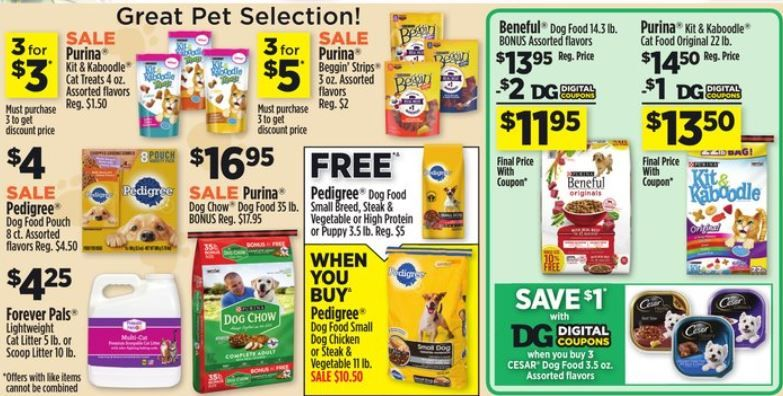 Through 05 04 19 At Dollar General For The Pets Note Price May