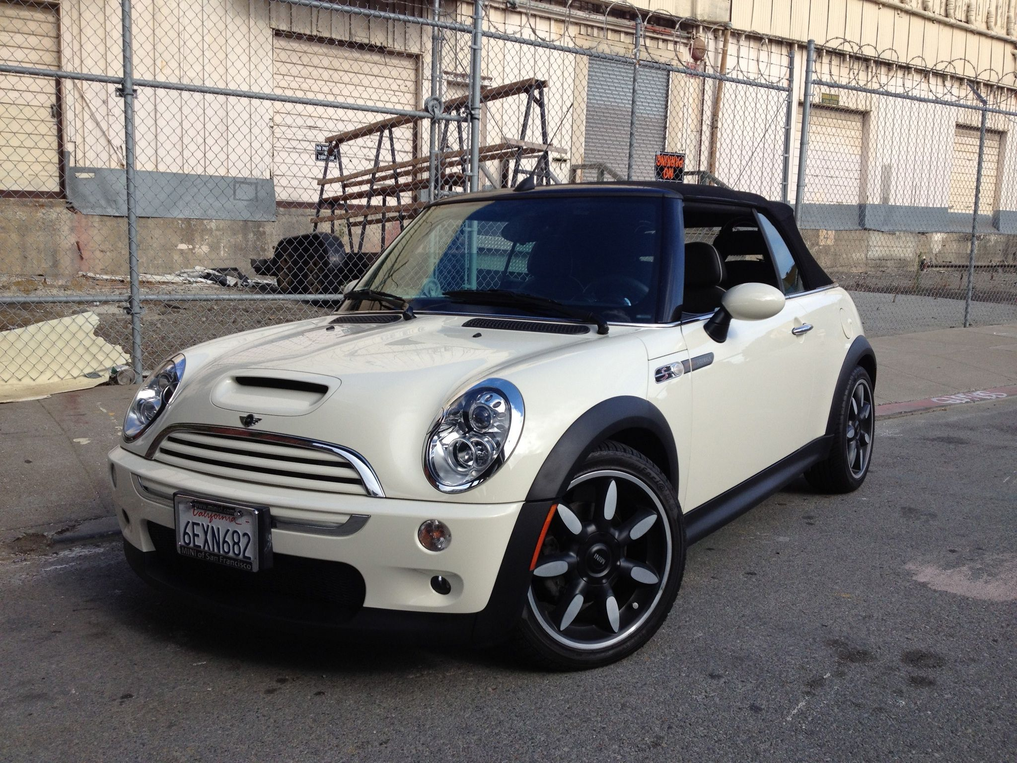 2008 Mini Cooper S Convertible Sidewalk Edition Mini Cooper Mini Cooper S Hot Rides