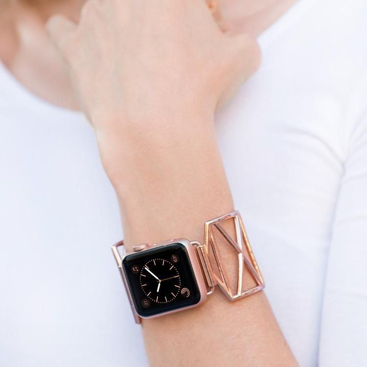 6c584be2d The Diana jewelry cuff makes the perfect accessory for your Apple Watch®.  Named after the original Wonder Woman, the new Diana cuff was designed with  sleek ...