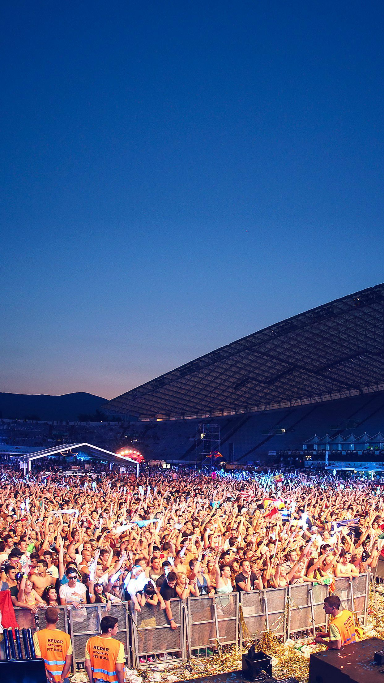 ultra europe concert city party night #iphone #6 #plus #wallpaper