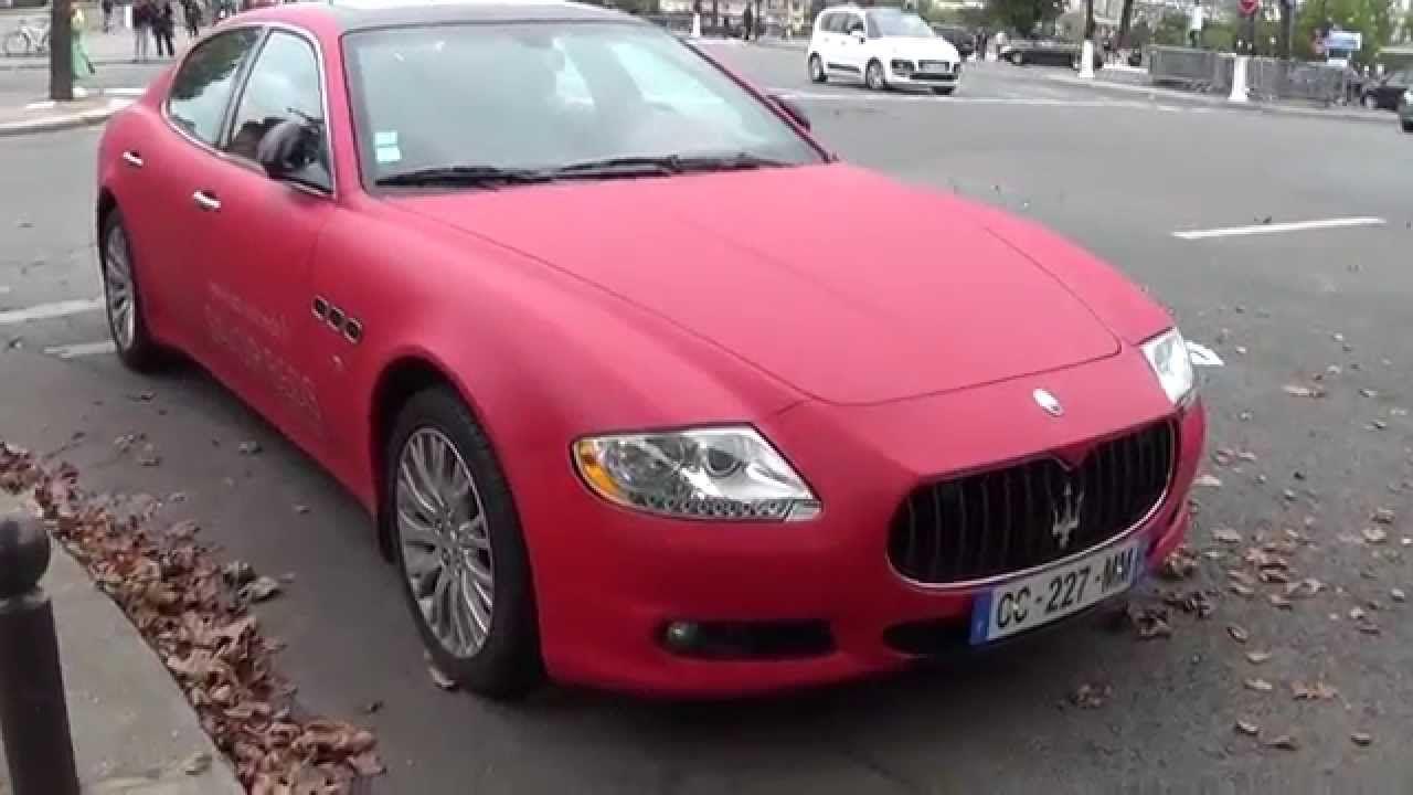 Pink Maserati Quattroporte 5