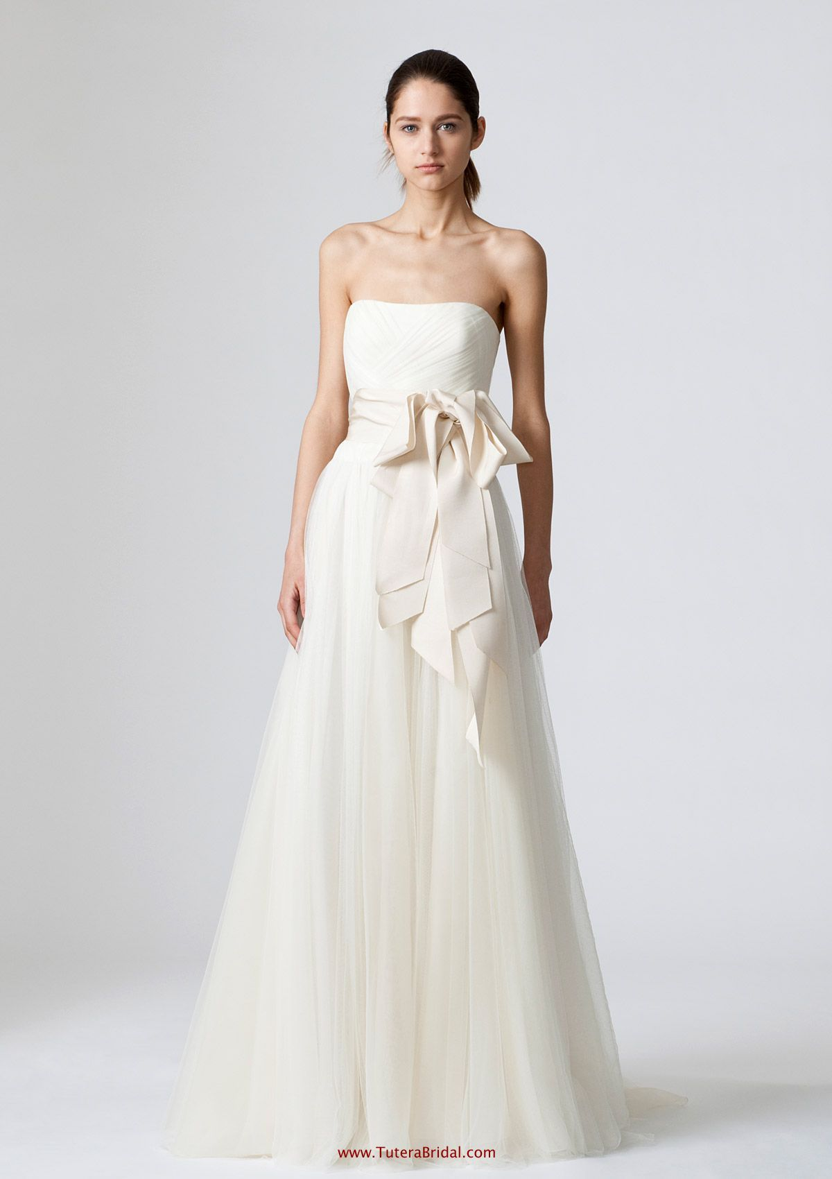 Vera wang wedding dress rental  The perfect dress except the sash needs to be lavender  My dream