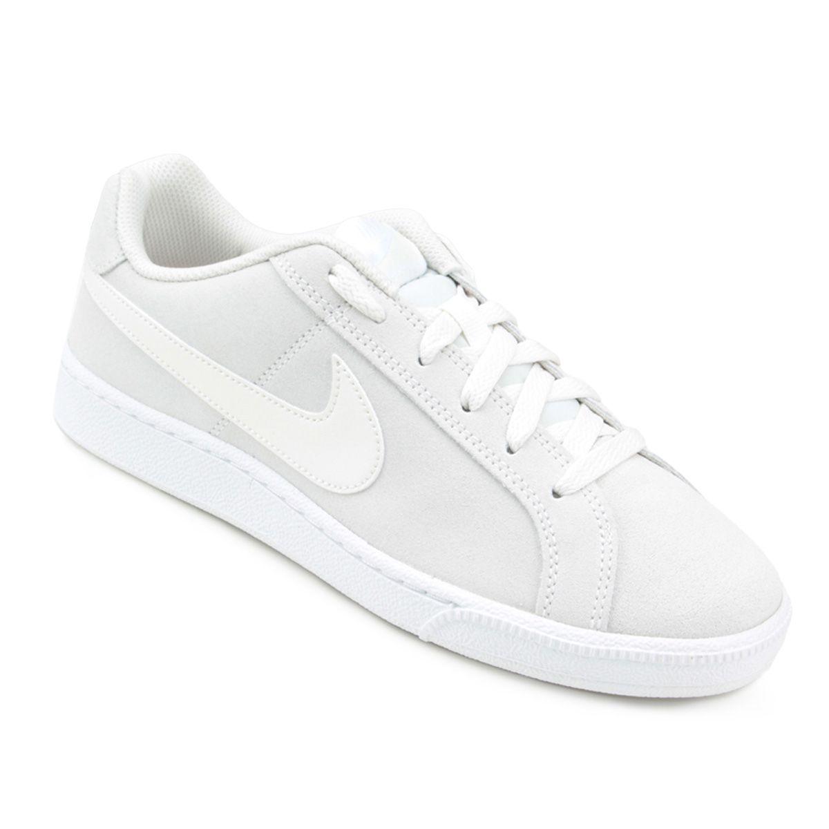 Tênis Nike Wmns Court Royale Masculino NETSHOES white  3746743bd5bb2