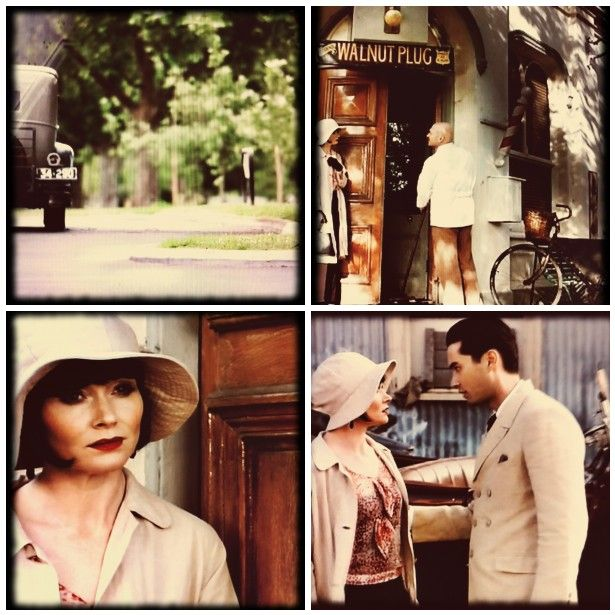 ... know about you, but I'm a big fan of Miss Fisher's Murder Mysteries