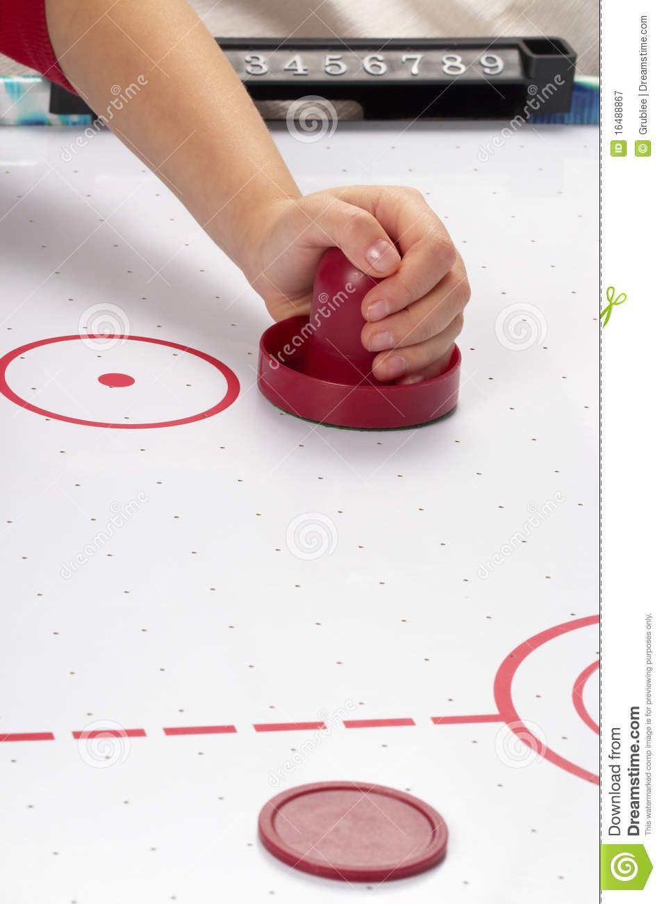 Air Hockey Hand On A Mallet Over Air Hockey Table Sponsored Hockey Air Air Table Hand Air Hockey Air Hockey Table Hockey