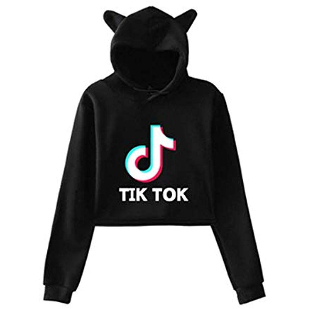 Unisex TIK-Tok Gym Fitness Clothes Girls TIK-Tok Hoodie Unisex Childrens Clothing Set Hoodie Trousers Sportswear