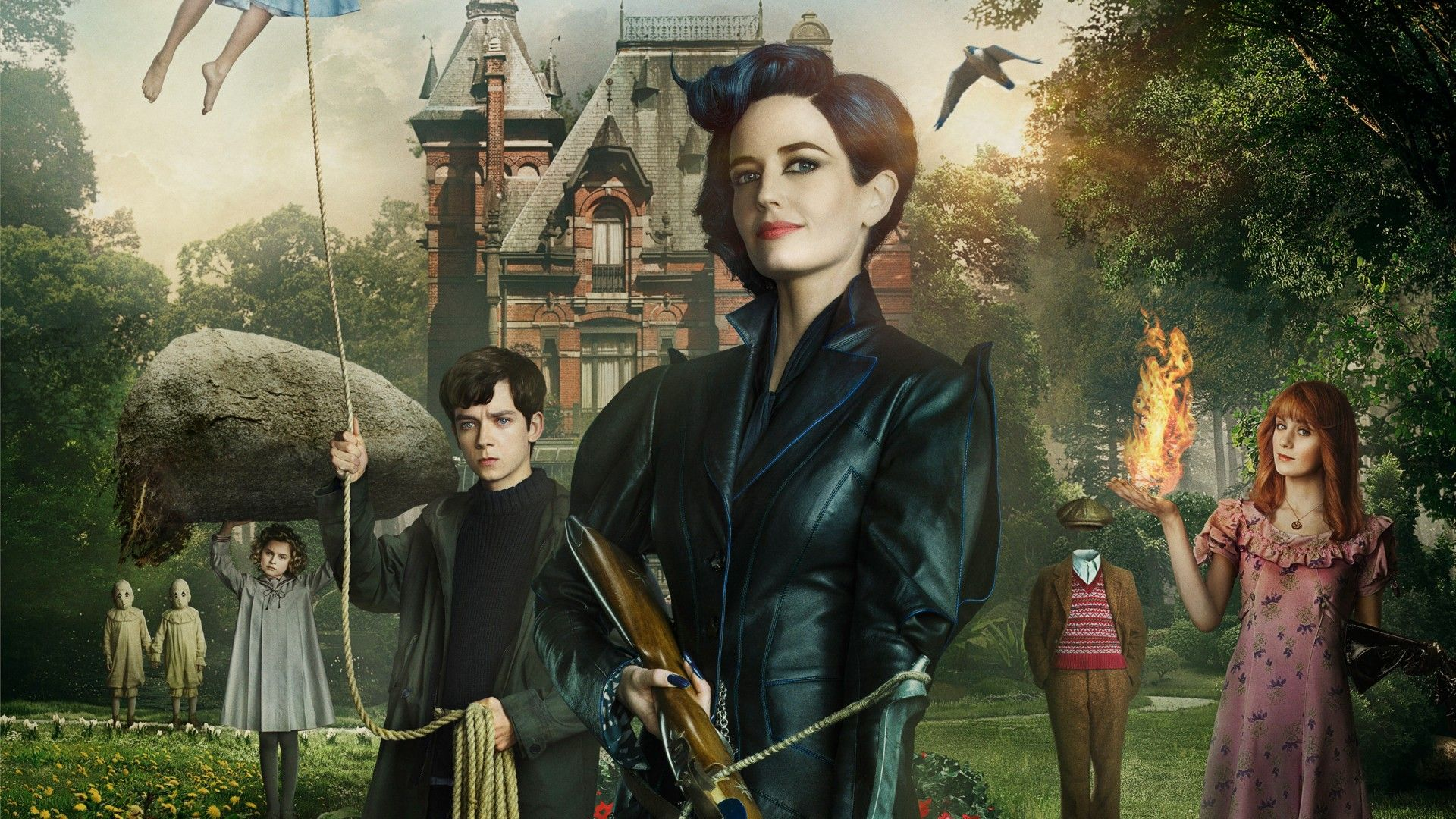 Miss Peregrine S Home For Peculiar Children Wallpapers Hd Wallpapers Miss Peregrines Home For Peculiar Peculiar Children Home For Peculiar Children