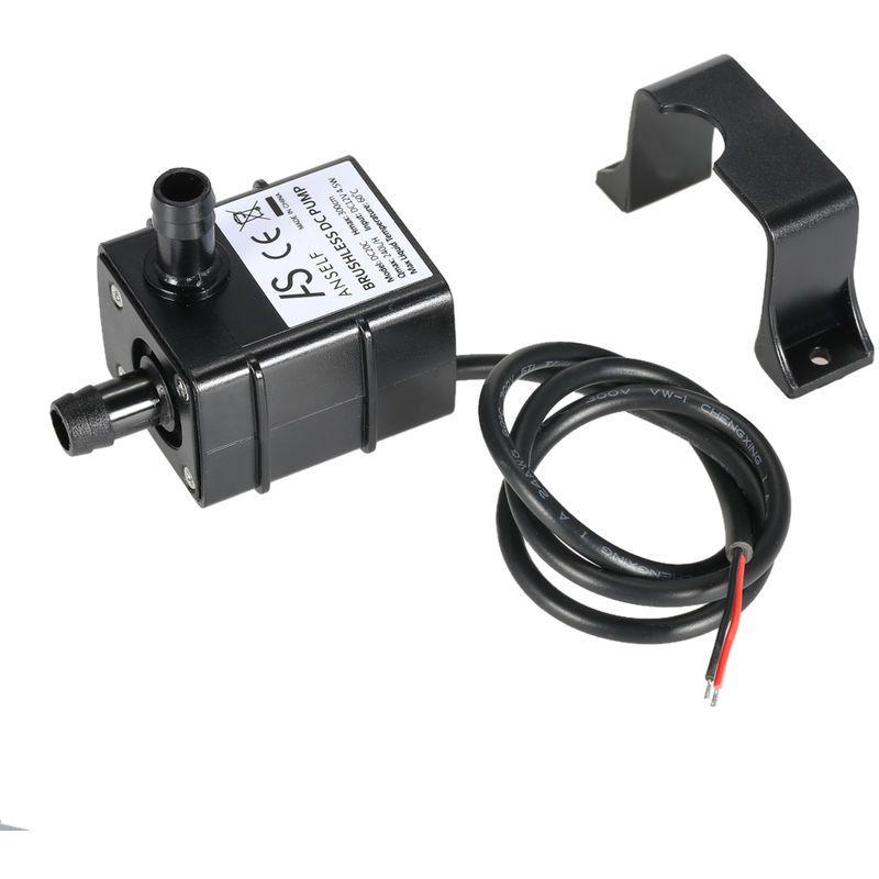 Anself ultra-silencieux mini DC12V 240L//H 3m micro brushless eau pompe à huile