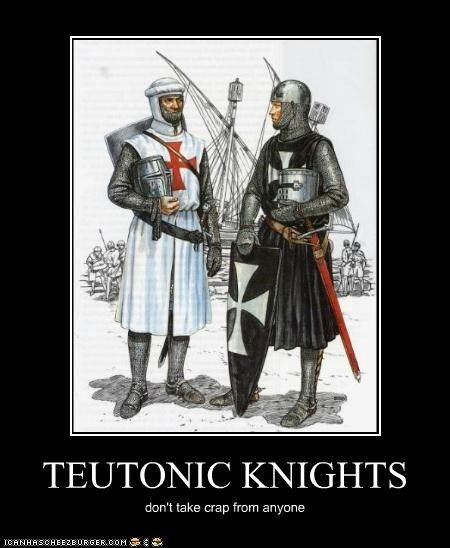 Military Orders Hospitaller and Teutonic Knights Poster Templar