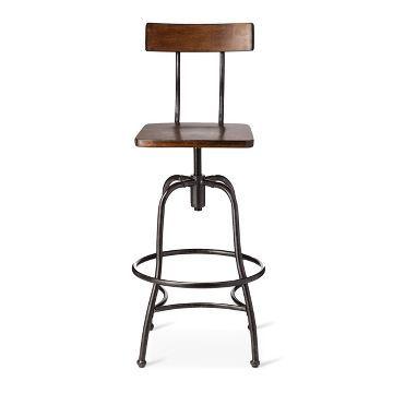 Surprising Woodsboro Adjustable Barstool Metal Bronze Threshold Cjindustries Chair Design For Home Cjindustriesco