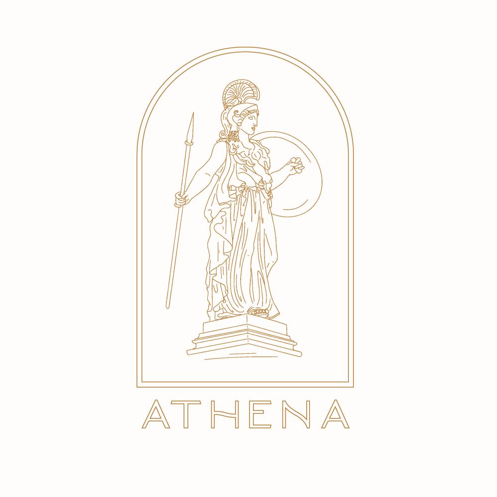 Athena Fit Branding Logo Logo Design Inspiration Branding Logo Design Inspiration Logo Design