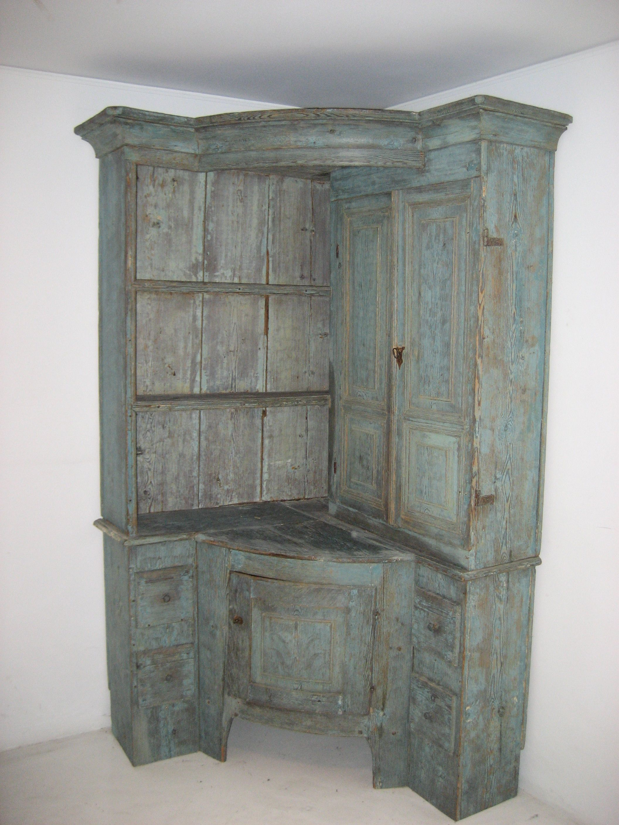 absolutely unique piece of furniture--antique Swedish corner cabinet on ideas for kitchen table, ideas for kitchen pantry, ideas for kitchen shelves, ideas for kitchen painting, ideas for kitchen hutch, ideas for kitchen bar, ideas for kitchen wine rack, ideas for kitchen desk,