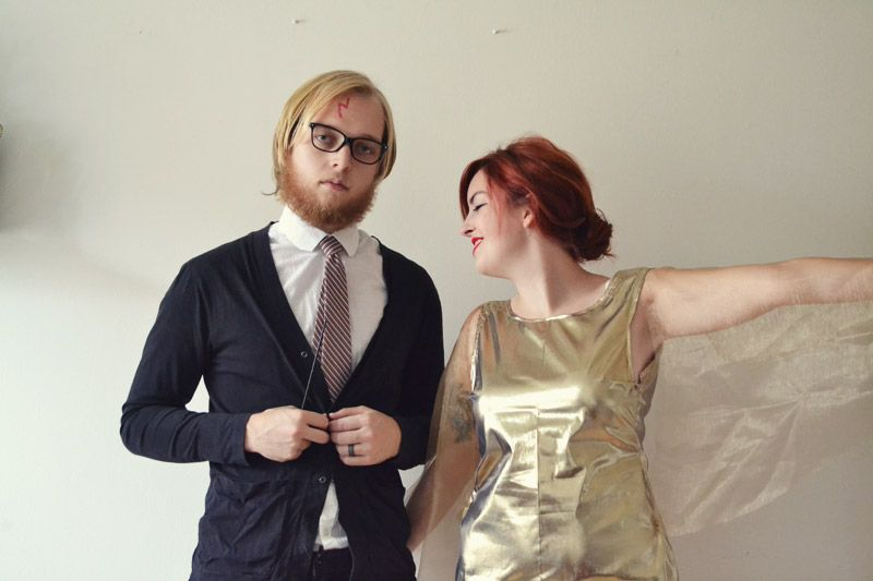 Harry Potter and The Golden Snitch couple's costume - photo and design by Whimsy Darling
