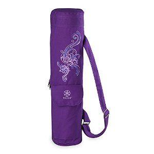 Amazon Com Gaiam Yoga Mat Bag Deep Plum Surf Sports