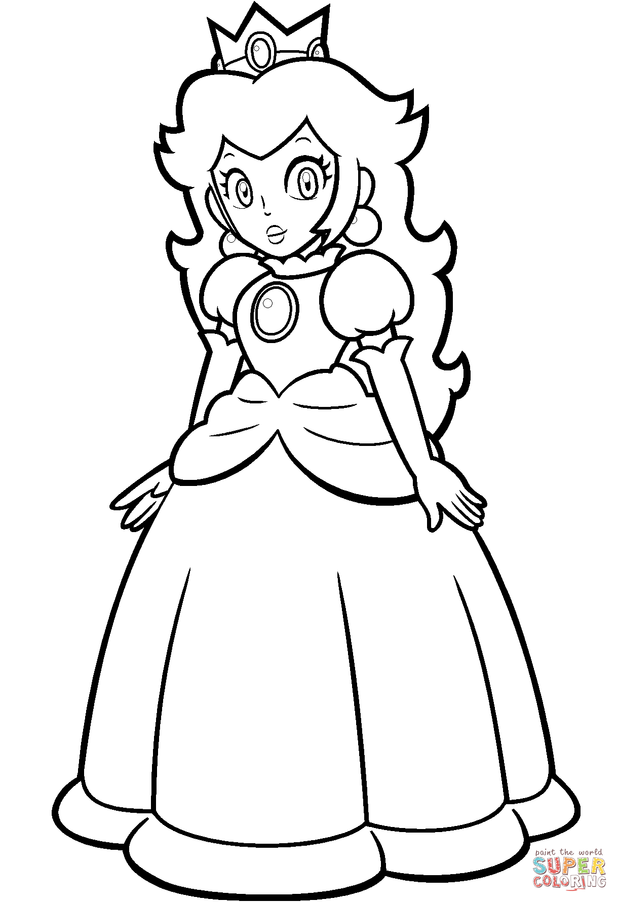 Princess Peach Coloring Pages Coloring Pages Super Mario Coloring Pages In 2020 Super Mario Coloring Pages Mario Coloring Pages Mario And Princess Peach