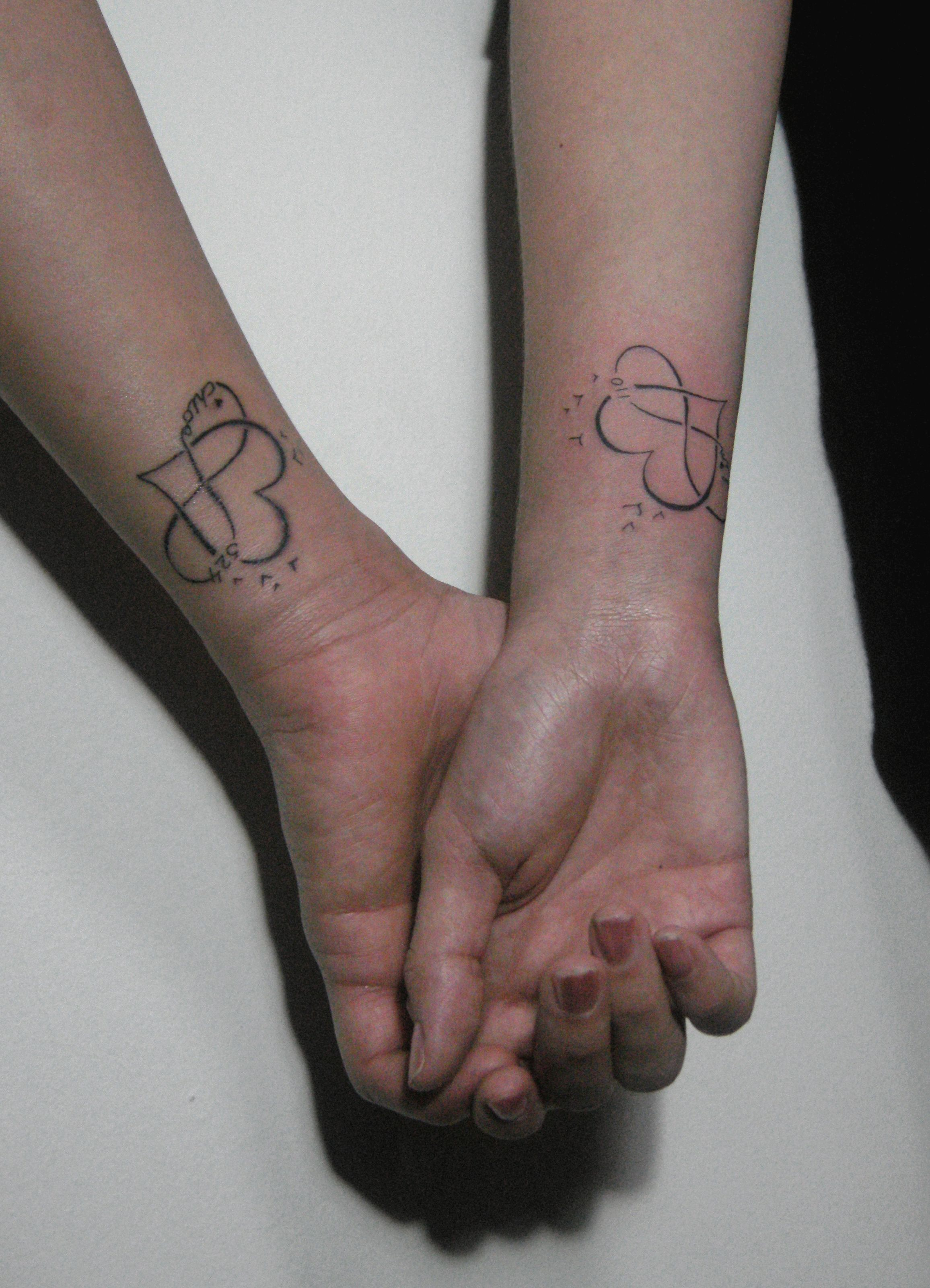 5ee034034f870 couple tattoo infinity love tattoo | RedGrey Art Gallery | Couple ...