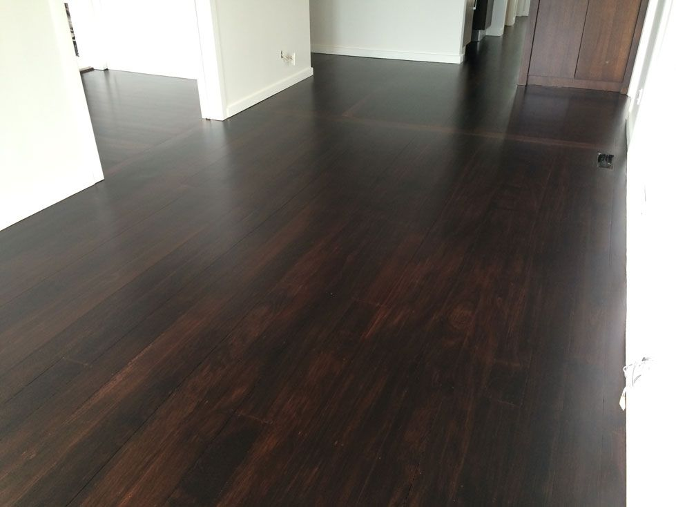 Rimu Floors Stained Dark With Matte Polyurethane House Styles